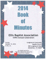 2014 Book of Minutes