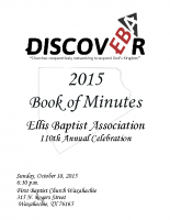 2015 Book of Minutes