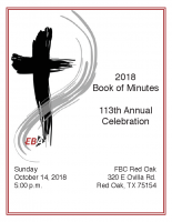 2018 Book of Minutes
