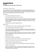 EBC Preschool Director Job Posting