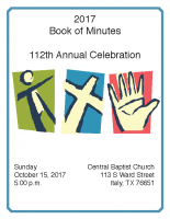 2017 Book of Minutes