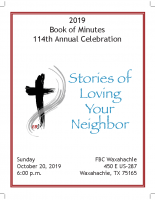 2019 Book of Minutes